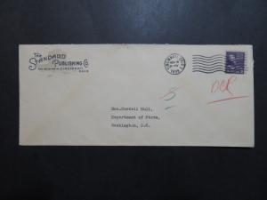 US 1938 The Standard Publishing Co Cincinnati Cacheted Cover - Z9155