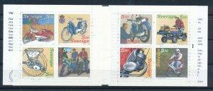 [I2649] Sweden 2005 Motobike Good booklet very fine MNH