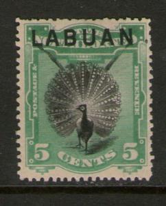 Malaya S. Setts. Labuan 1894 SG 65 MH