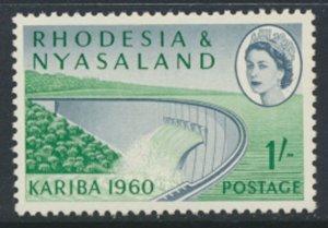 Rhodesia & Nyasaland SG 34 Sc# 174  MNH see details Hydro Electric Scheme
