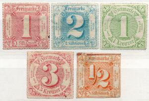 (I.B) Germany Local Post : Thurn & Taxis Collection
