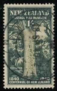 1940 New Zealand, 1 Shilling (T-7858)
