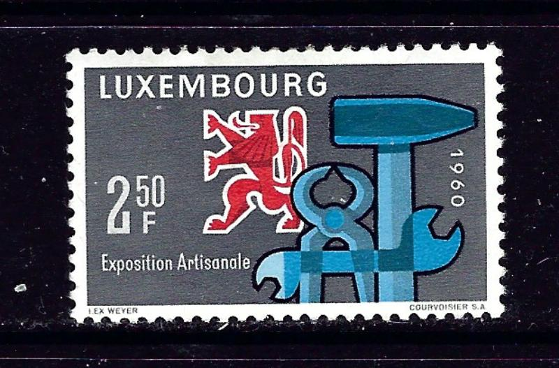 Luxemburg 361 MH 1960 issue