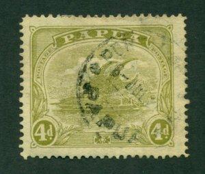 Papua 1911 #54 U SCV(2020) =$14.00