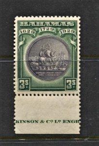 STAMP STATION PERTH  Bahamas #89 Seal of Bahamas - MNH CV$60.00