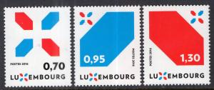 Luxembourg 1446-1448 MNH VF