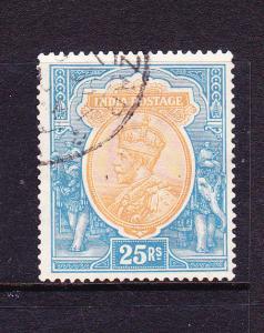 INDIA  1926-33  25r   KGV  FU INVT  WMK  SG 219a