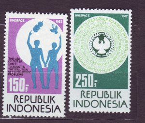 J22793 JLstamps 1982 indonesia set mnh #1174-5 designs