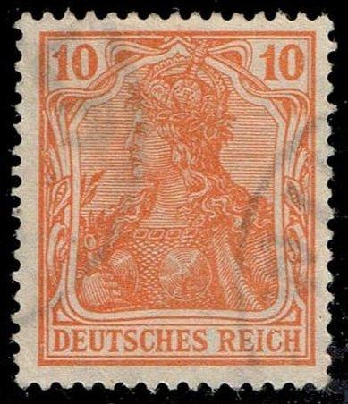 Germany #119 Germania; Used (1.50)