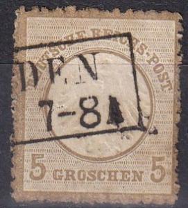 Germany #6   Used  CV $85.00  Z676