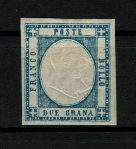 P03/NEAPOLITAN PROVINCES/ITALY/1861, MH, SASSONE #20, 225€