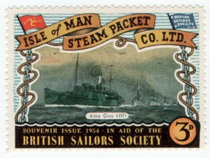 (I.B) Cinderella Collection : Isle of Man Steam Packet 3d (King Orry III)