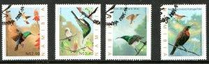 2005   NAMIBIA  -  SG: 985/88  -  SUNBIRDS  -  USED