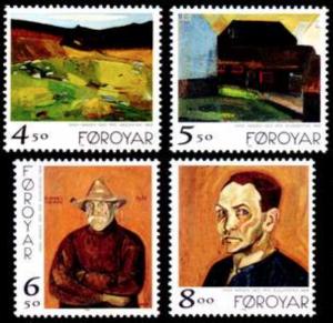 STAMP STATION PERTH Faroe Islands #346-349 Fa341-344 MNH CV$6.60