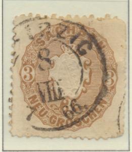 Saxony (German State) Stamp Scott #19, Used, Good - Free U.S. Shipping, Free ...