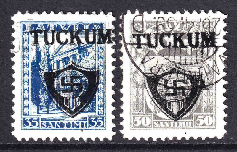LATVIA TUCKUM OVERPRINTS x2 CDS VF SOUND #2