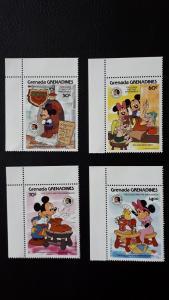 Disney - Grenada Grenadines 1985. ** MNH complete set