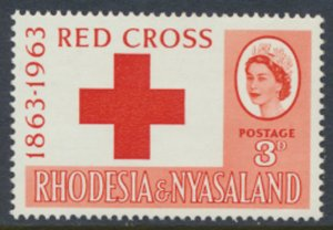 Rhodesia & Nyasaland SG 47 Sc# 188  MNH see details Red Cross