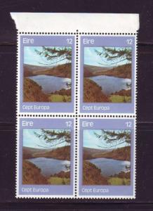 Ireland Sc 414 1977 12p Europa stamp block of 4 mint NH