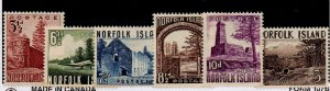 Norfolk Is. 13-18 Set Mint Hinged