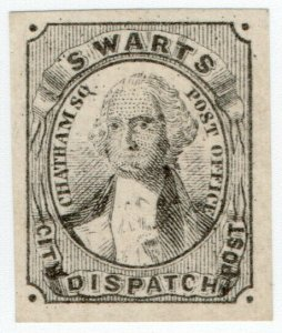 (I.B) US Local Post : Swart's City Dispatch Post