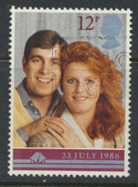 Great Britain SG 1333 - Used - Royal Wedding