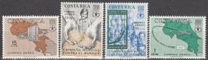 Costa Rica #C401-4  MNH  (S5939L)