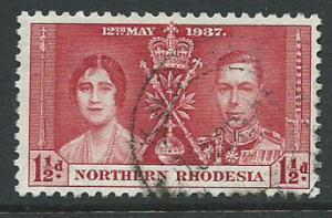 Northern Rhodesia  SG 22 VFU