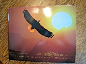 U.S. - WILDLIFE AMERICA - BOOK AND STAMPS