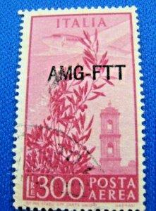 TRIESTE (ITALY)  1949  -  SCOTT # C24  -   USED   (Ht3)
