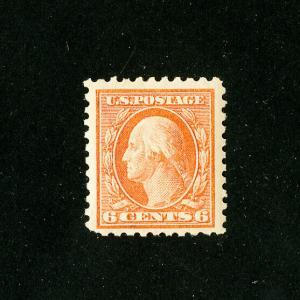 US Stamps # 429 Superb OG VLH Huge Stamp