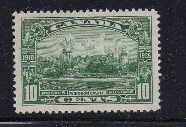 Canada Sc 215 1935 10c Windsor Castle stamp mint