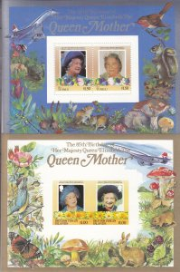 British Commonwealth: 85th Birthday of Queen, Perf & Imperf, Grp/32 (S18187)