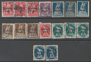COLLECTION LOT # 2885 BAVARIA 16 STAMPS 1920 CLEARANCE CV+$28