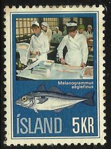 Iceland, 1971, Scott# 435 Used
