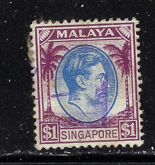 Singapore 18 Used 1948 issue