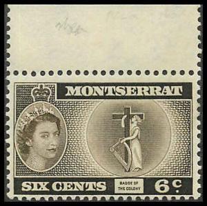 Montserrat 134 Mint VF NH