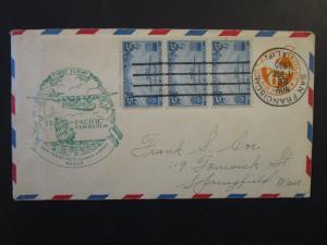 United States 1935 Hawaii / Manila FFC / FDC (I) - Z4444