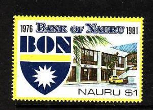 Nauru.-Sc#231-Unused NH set-Bank of Nauru-1981-