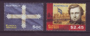J23880 JLstamps 2004 australia set mnh #2254-5 designs