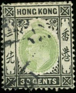 Hong Kong Scott #99 Used