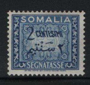 SOMALIA, J56, HINGED, 1950, SOMALIA, POSTAGE DUE STAMPS