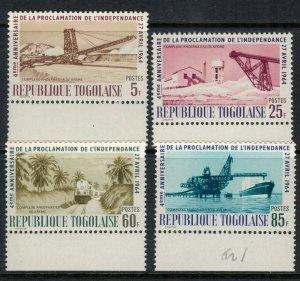 Togo #479-82* NH  CV $2.30