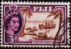 Fiji. 1954 3d S.G.285 Fine Used