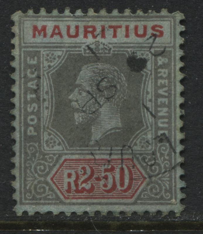 Mauritius 1922 2 rupees 50 cents used