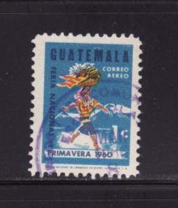 Guatemala C270 Set U Woman Carrying Fruit Basket (E)