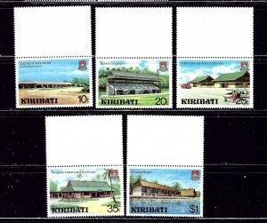 Kiribati 360-64 MNH 1980 set