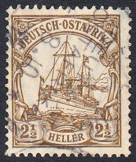 German East Africa 31 Used CV $1.00