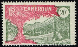 FRANCE COLONIES CAMEROON 1925 -1927 Local Motives 20F MH/OG STAMP