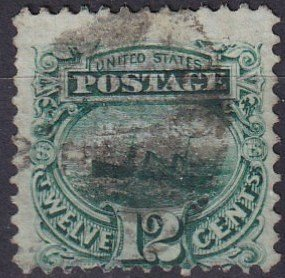 US #117 Used CV $130.00 (S10090)
